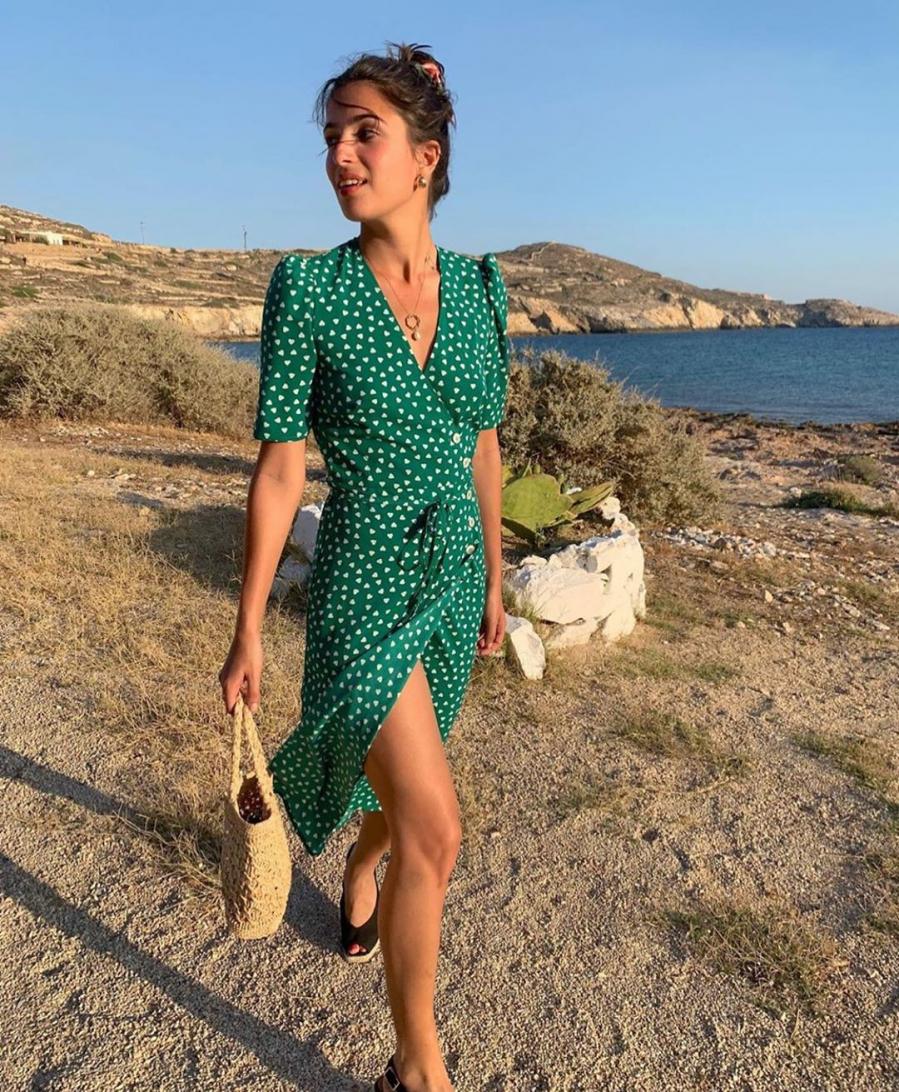 Học phụ nữ Pháp chọn váy hoa, đảm bảo xinh hết nấc