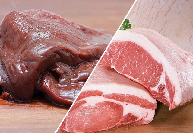 Thịt lợn kỵ gan dê