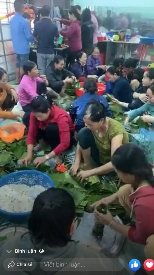 Người dân xã Quang Phú, Đồng Hới (Quảng Bình) cũng tự nguyện góp sức chung tay hưởng ứng (Ảnh: Facebook)