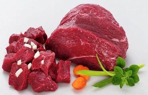 Thịt bò tươi ngon có màu sắc tươi mới không rỉ nước