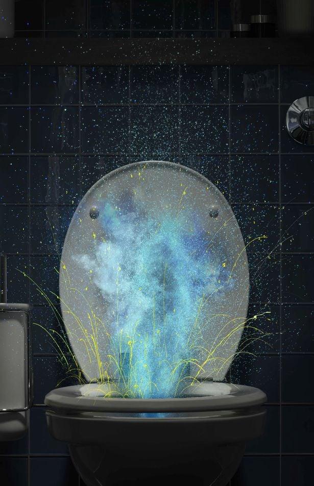 Thí nghiệm cho thấy các giọt nước chứa đầy vi khuẩn virus bắn tung tóe ra ngoài, xa tới 1,8 mét.