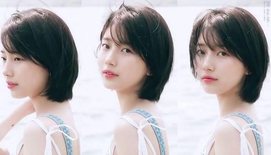Tình đầu quốc dân - Bae Suzy là người dã đưa tóc bob layer đuôi tôm trở thành xu hướng được các phái đẹp ở Hàn Quốc vô cùng ưa chuộng