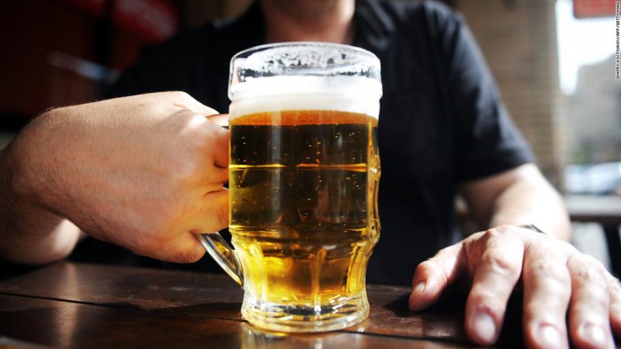 Uống rượu bia gây đột quỵ