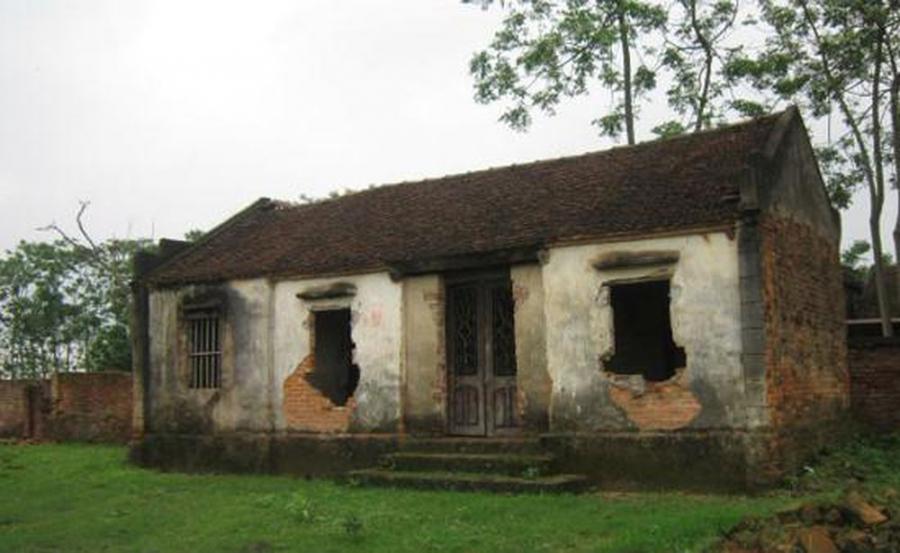 Ngôi nhà bỏ hoang ở Bắc Ninh