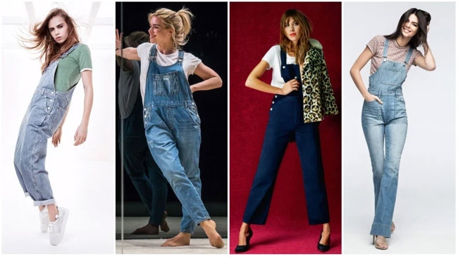 Bỏ túi 7 cách mix quần yếm, váy yếm vừa hack tuổi vừa sành điệu khi đến chốn công sở hay du lịch