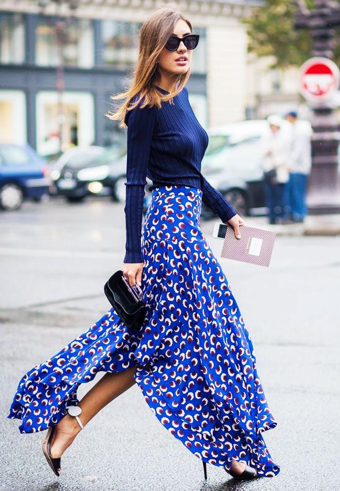 Mách bạn vài tips hay ho để diện chân váy maxi đẹp quanh năm mùa nào cũng nổi bật