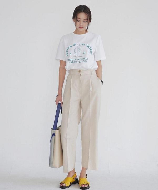Muôn kiểu mix quần dáng lửng đẹp và sành điệu dành cho chị em công sở F5 lại phong cách