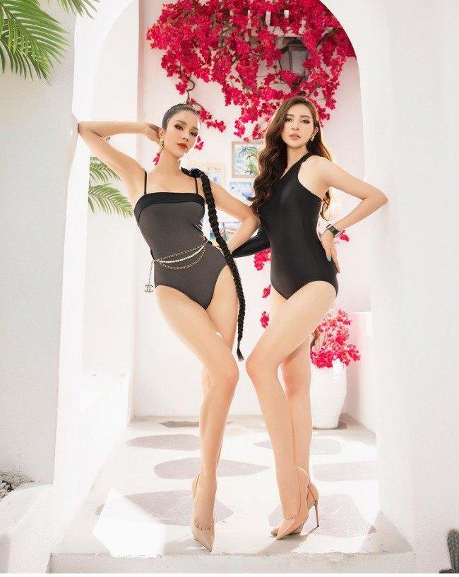 Mới đầu hè, Diệp Lâm Anh đã thiêu đốt mọi ánh nhìn bằng hai bộ bikini cực gợi cảm