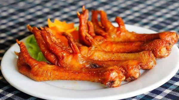 Cách làm chân gà nướng ngũ vị thơm ngon