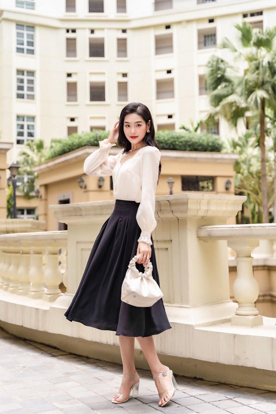 3 cách chọn outfit đơn giản nhưng sành điệu dành cho các nàng công sở