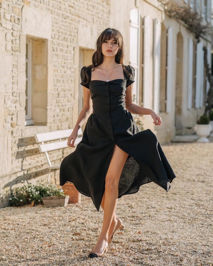 3 mẫu váy vừa xinh vừa siêu tôn dáng được gái Pháp lăng xê nhiệt tình