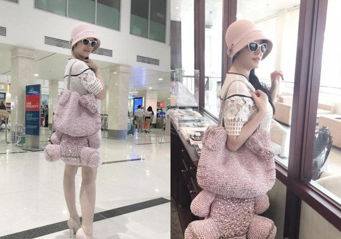 Sao Việt sở hữu loạt túi xách độc lạ: Hà Hồ mang túi hình cái bàn là, Hoàng Thùy Linh như xách đồ chơi