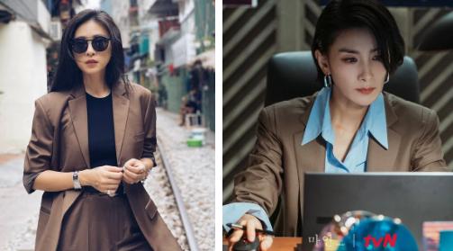 """So kè gu thời trang đậm chất soái tỷ của """"Mợ cả"""" (Mine) và Ngô Thanh Vân"""