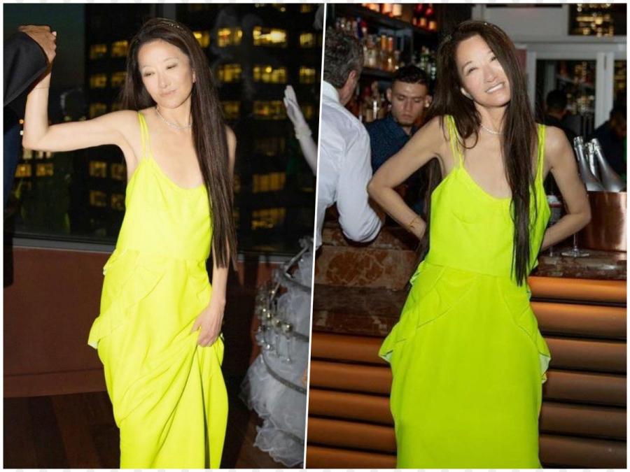 Dù diện váy nổi bật, Vera Wang lại chẳng hề trông