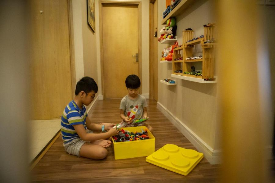 Tạo không gian vui chơi cho con ngay trong nhà mình