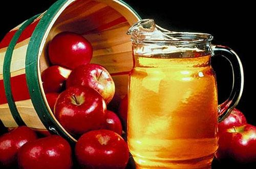Giấm rượu táo