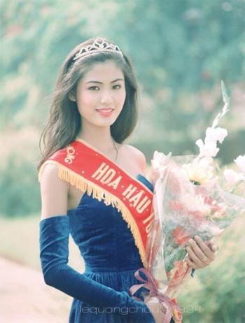 Hoa hậu Thu Thủy lên ngôi vào năm 1994. Cô được yêu thích bởi vẻ