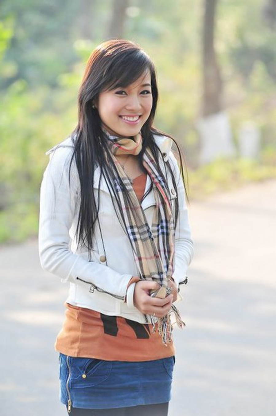Diễn viên Minh Hương thời đảm nhận vai diễn Vàng Anh trong Nhật ký Vàng Anh
