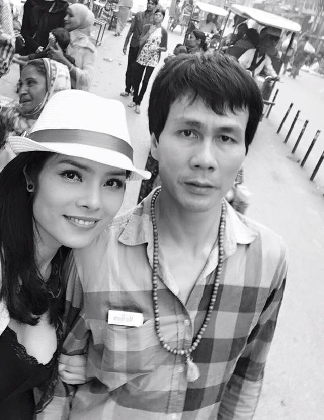 Diễn viên Kiều Thanh và ông xã