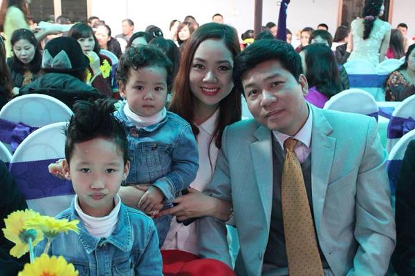 Gia đình hạnh phúc hiện tại của Hoa hậu Mai Phương.