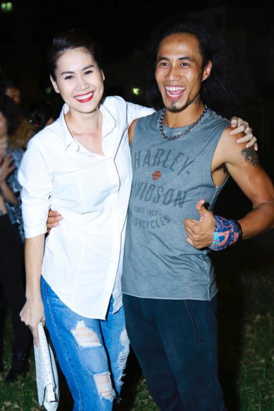Thân Thúy Hà và ca sĩ Phạm Anh Khoa