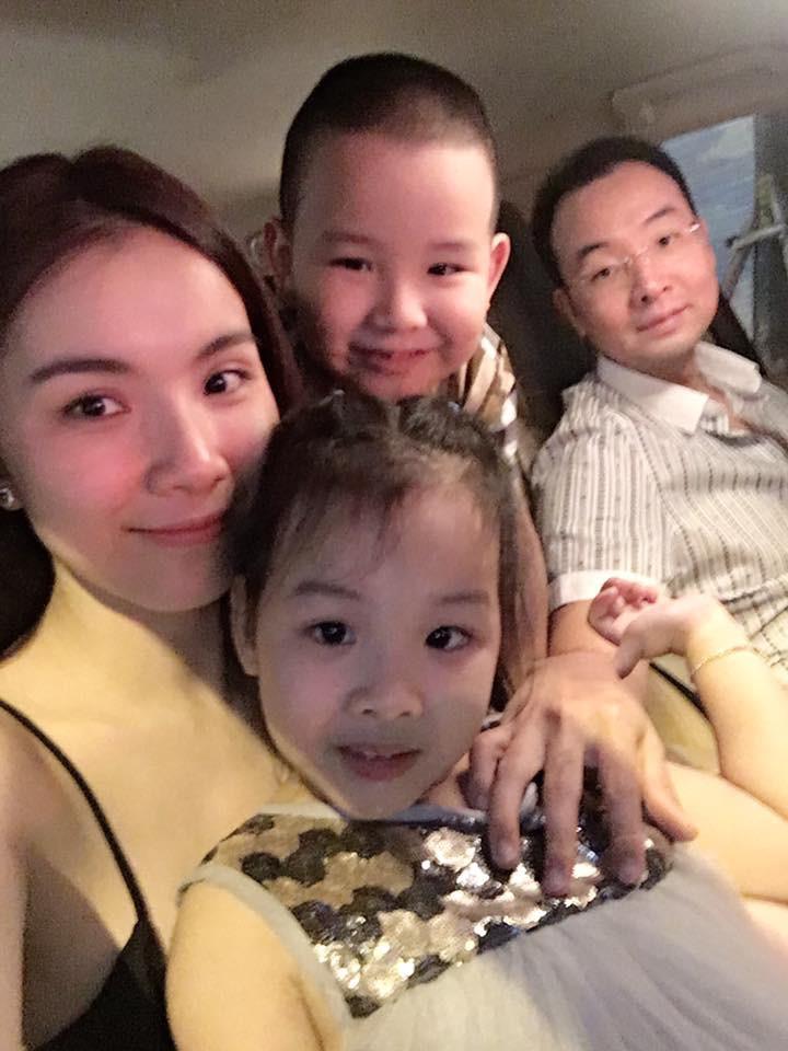 Gia đình hạnh phúc hiện tại của Hoa hậu Thùy Lâm
