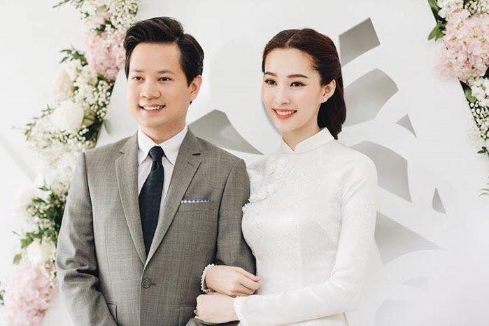 Lộ diện con gái 2 tháng tuổi của Hoa hậu Đặng Thu Thảo và ông xã doanh nhân Trung Tín