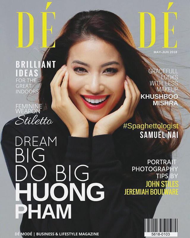 Sau bao ồn ào chưa kịp lắng xuống, cuối cùng sự thật chuyện Hoa hậu Phạm Hương được tạp chí danh giá Pháp mời làm mẫu trang bìa cũng bị bại lộ.