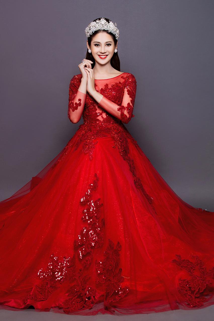 Có bạn trai đại gia, Lâm Khánh Chi nhanh chóng mặc váy cưới 11
