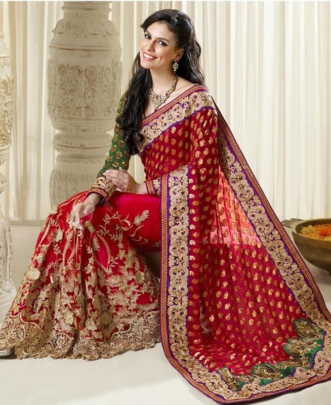 Bí mật đằng sau chiếc váy cưới của cô dâu Ấn Độ 7