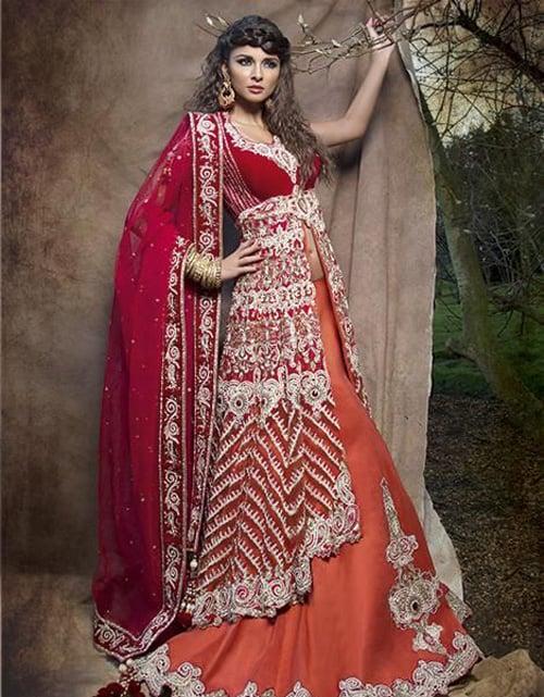 Bí mật đằng sau chiếc váy cưới của cô dâu Ấn Độ 5