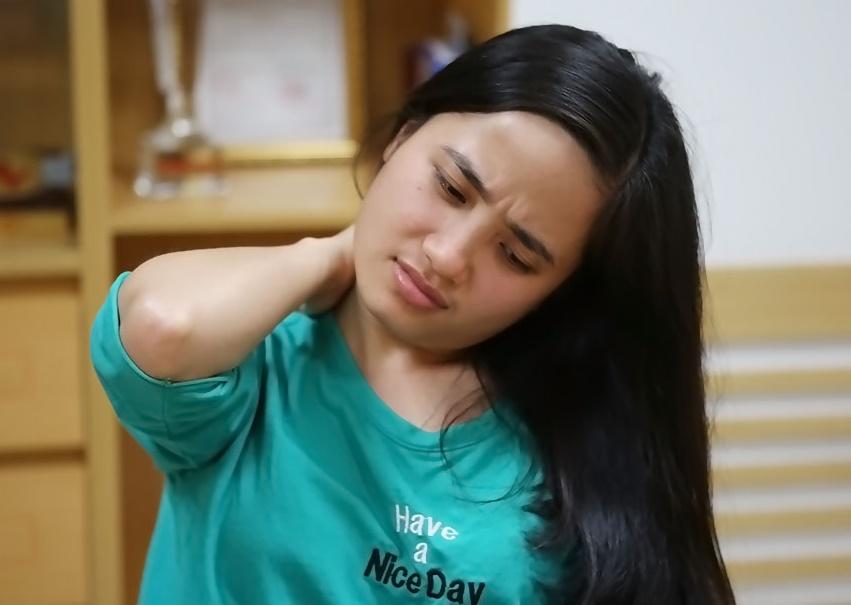 Kết quả hình ảnh cho bà bầu bị đau cổ