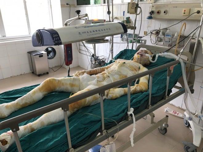 Chị Hiền do vết thương quá nặng nên đã qua đời tại nhà riêng
