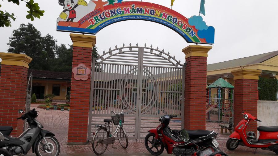 Trường mầm non Ngọc Sơn, Nghệ An, nơi xảy ra vụ việc