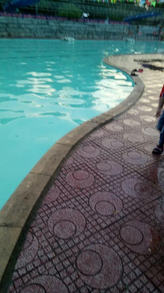 Bể bơi Quân khu IV, Nghệ An - nơi xảy ra vụ việc