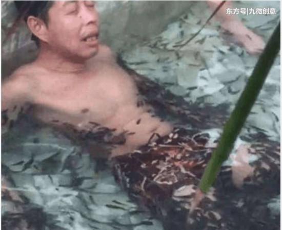 Massage được 5 phút, cả đàn cá nổi trắng bụng vì một lý do đặc biệt