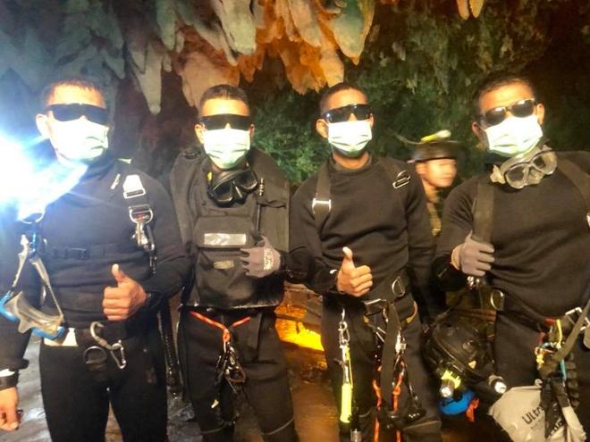 May mắn, chiến dịch đã thực sự thành công. Các thợ lặn của Hải quân Thái Lan và quốc tế đã làm nên điều kỳ diệu