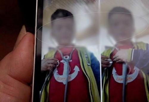 Qua bức ảnh ngẫu nhiên thấy trên mạng, anh Sơn nghi ngờ đây mới chính là con trai mình