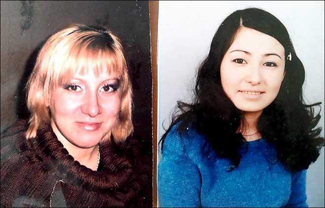 Lyuchiya và người mẹ đã nuôi mình từ khi lọt lòng