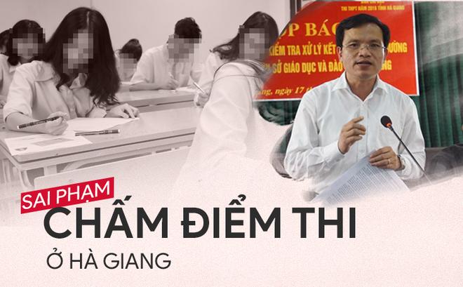Những gian lận thi cử ở Hà Giang, Hòa Bình, Sơn La thời gian vừa qua gây rúng động xã hội