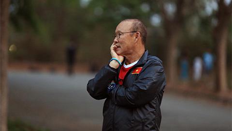 HLV Park tỏ ra ngao ngán và thất vọng trước sự