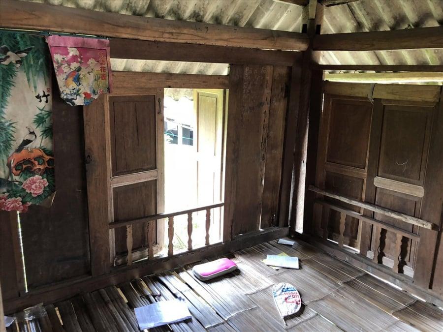 Căn nhà nhỏ giản dị của người phụ nữ năm nay đã 80 tuổi
