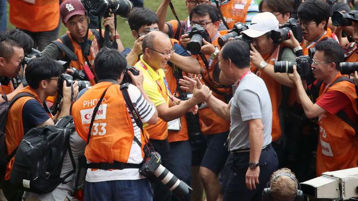 HLV Park hưởng mức lương 22 000 USD/tháng khi dẫn dắt đội tuyển Việt Nam