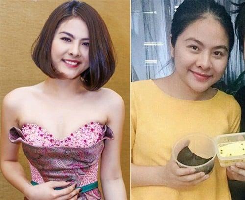 So sánh thời kì vừa mới sinh và sau khi giảm cân thành công của Vân Trang.