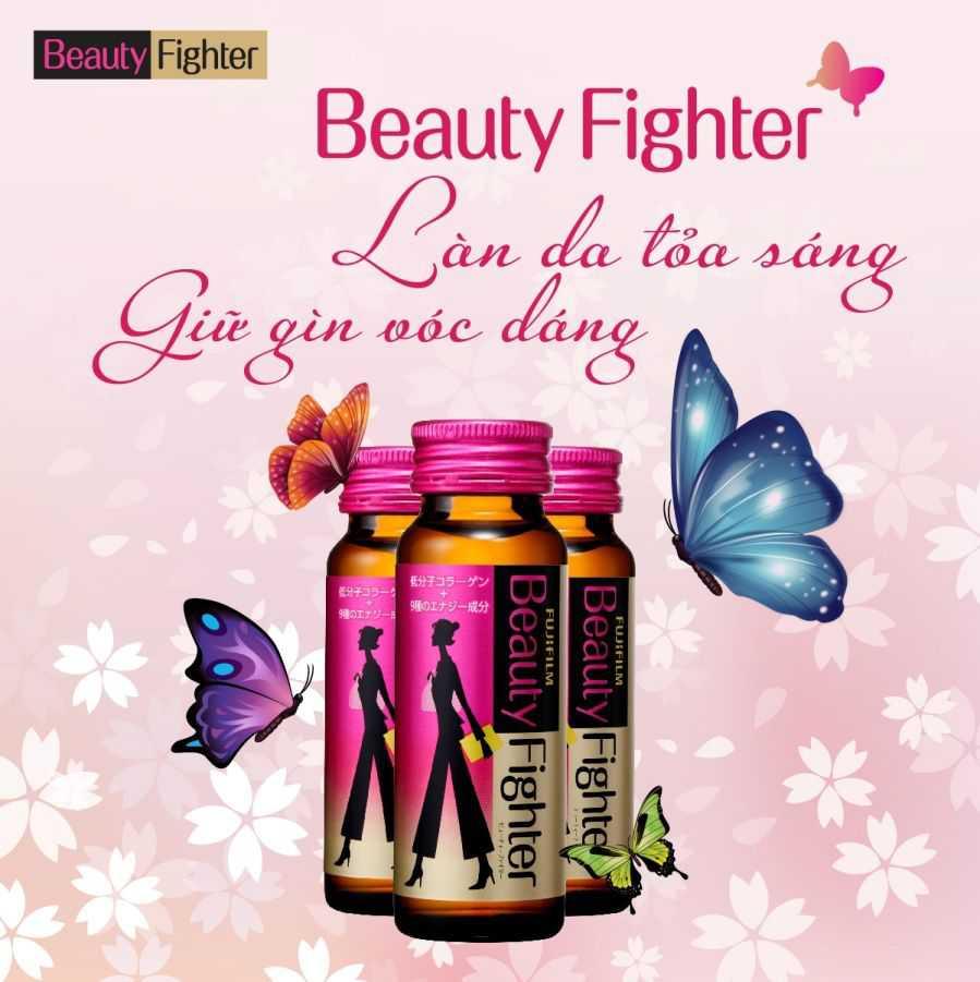 Beauty Fighter – Làn da tỏa sáng, giữ gìn vóc dáng