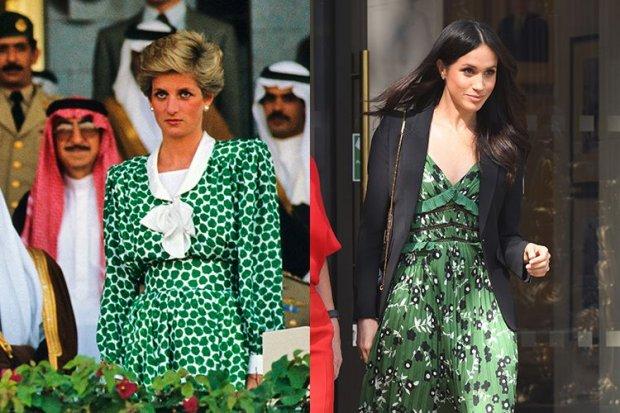 11. Hai chiếc váy màu xanh là được cho là có nhiều điểm tương đồng của hai công nương.
