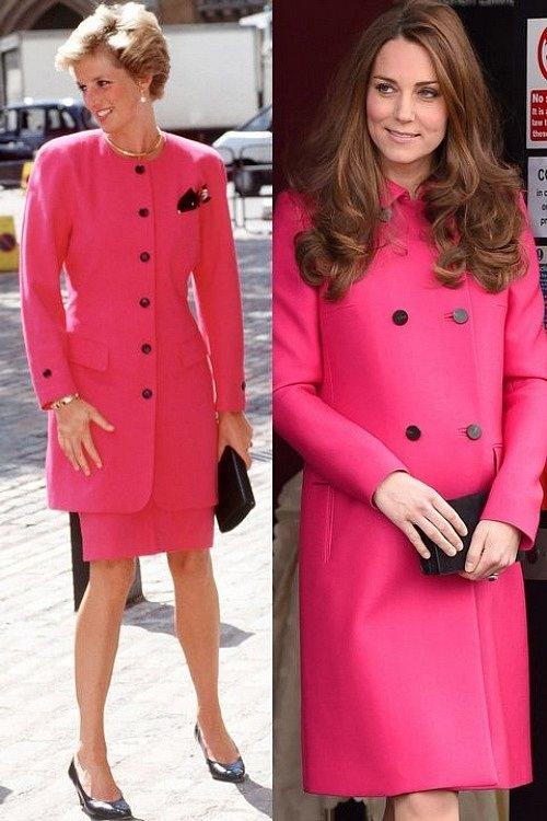 Cả hai đều không ngại mặc đồ gam màu nổi bật như hồng cánh sen.