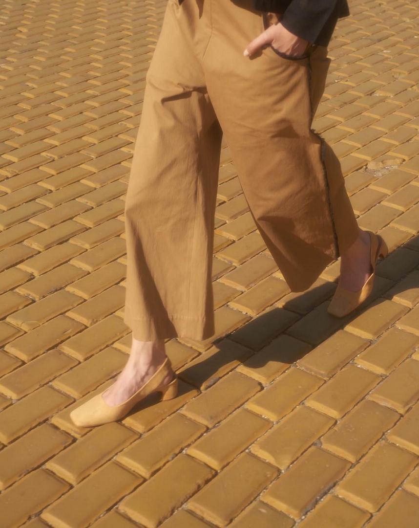 Mũi vuông có thể đi với hầu hết tất cả các loại giày.