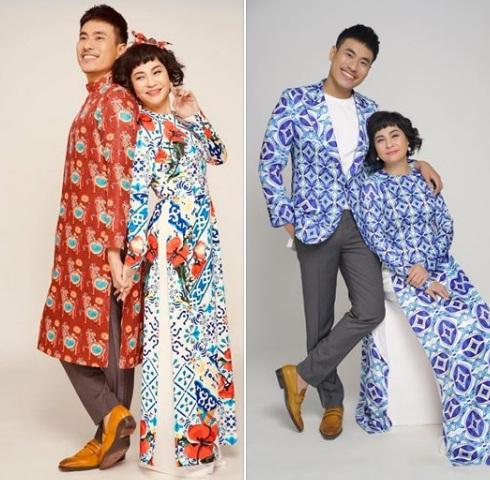 Cặp đôi diện áo dài đẹp đôi khiến ai cũng ngưỡng mộ