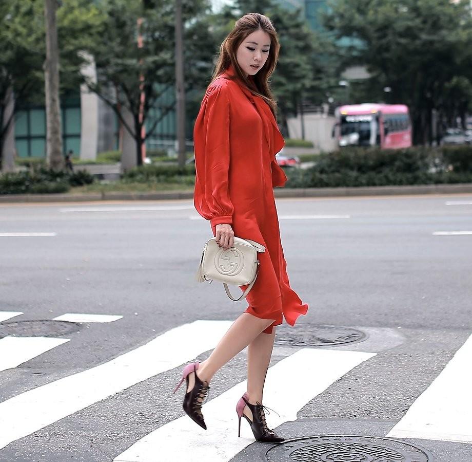 Những chiếc đầm đỏ siêu quyến rũ